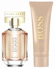 Hugo Boss The Scent For Her Geschenkset Eau de Parfum 30ml + Gratis Showergel 50ml Set