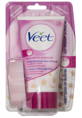Veet In-shower Creme Zijde Extra